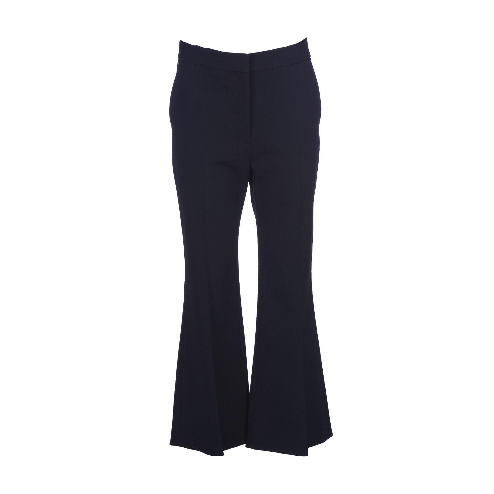 Stella Mccartney Black Angela Cropped Trousers