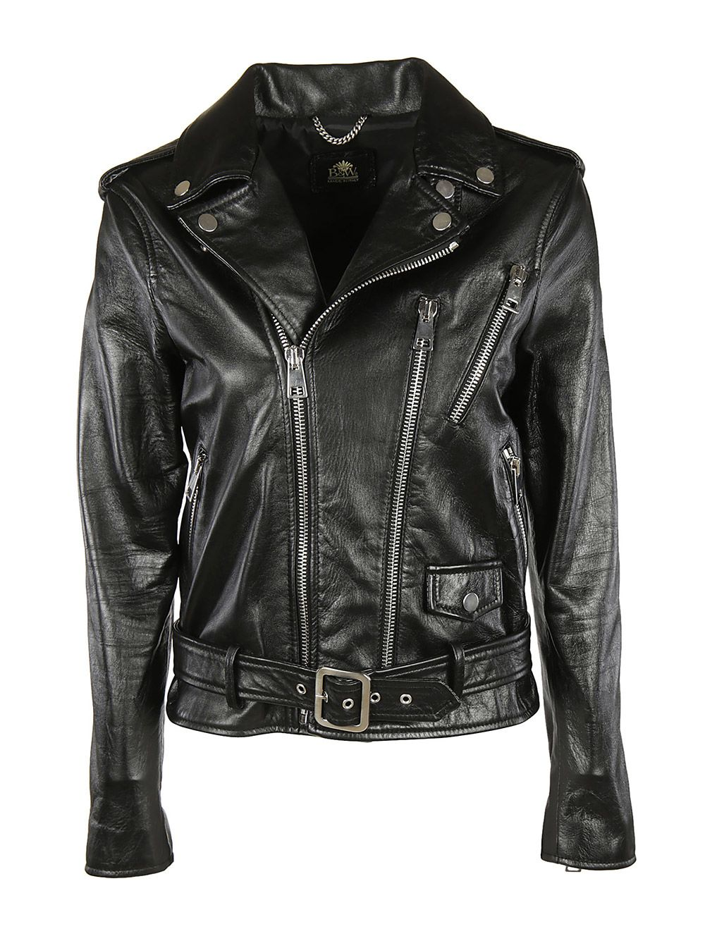 Self Belted Biker Jacket