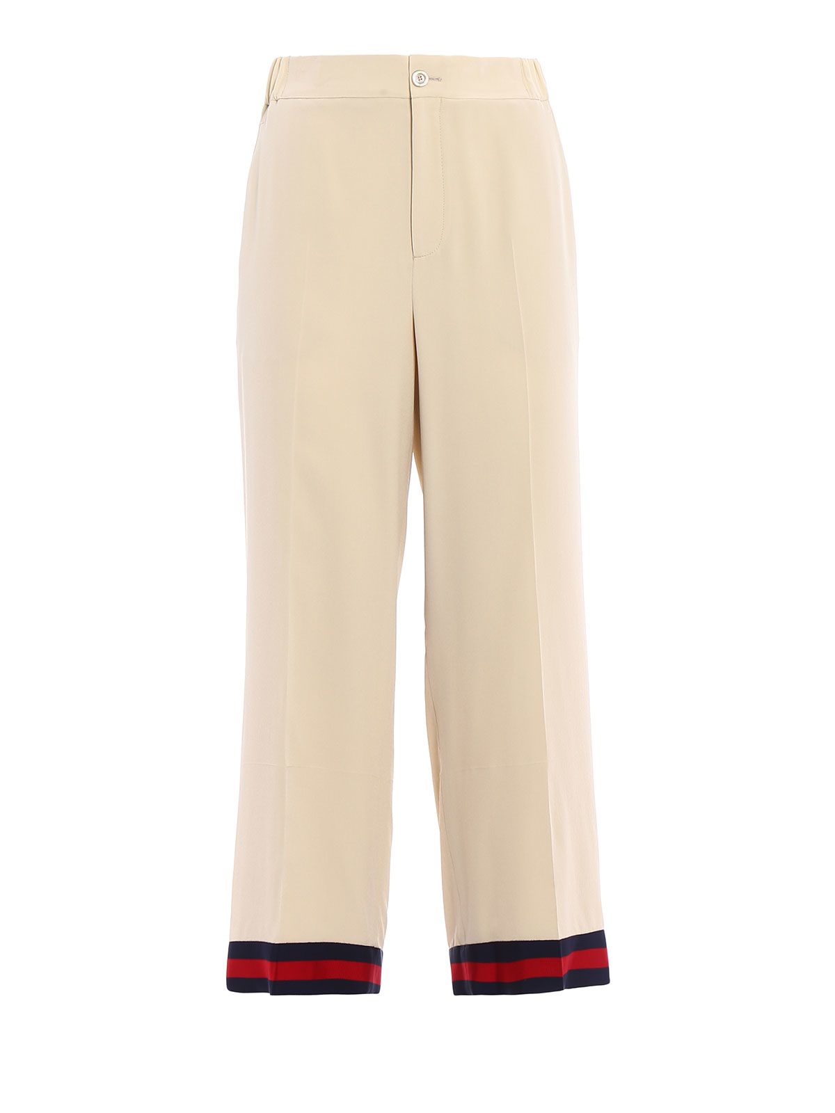 Gucci Silk Crepe De Chine Pants