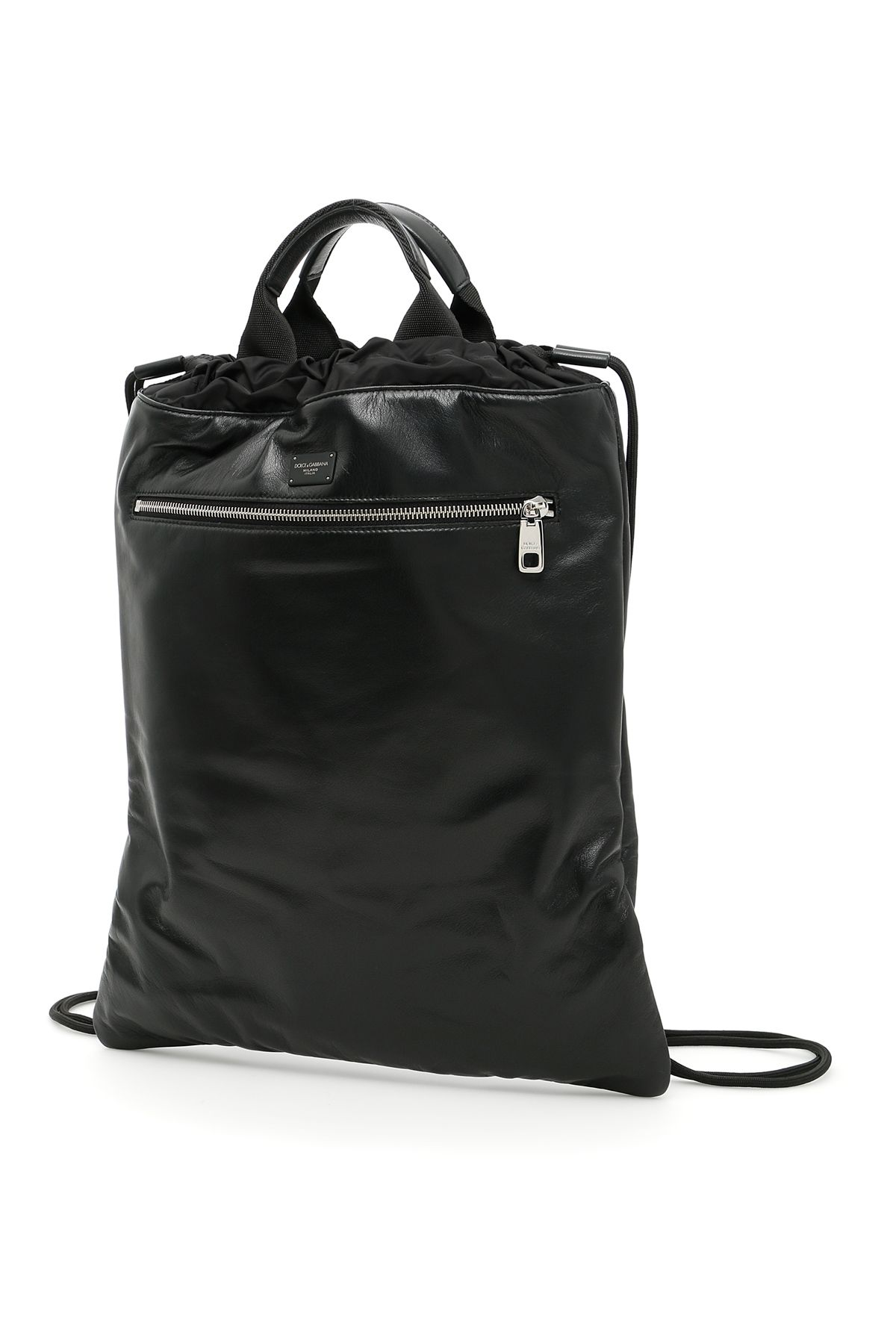Nappa And Lightweight Nylon Backpack