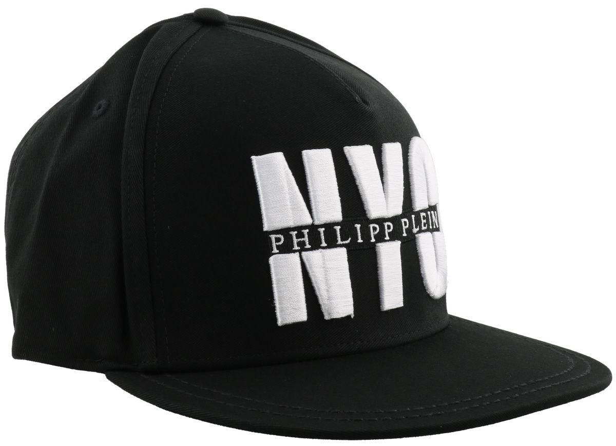 philipp plein philipp plein jamal baseball cap black nickel men 39 s hats italist. Black Bedroom Furniture Sets. Home Design Ideas