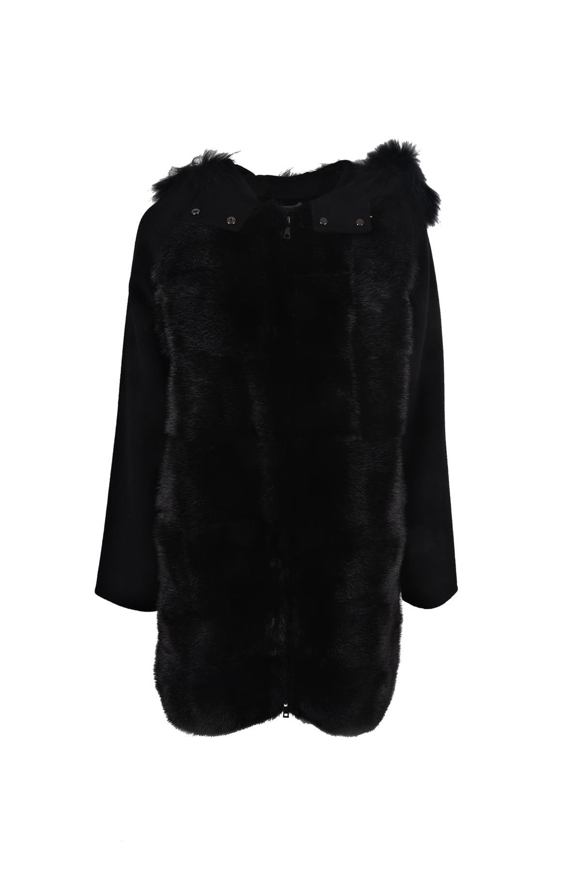 Parosh Furry Linky Coat