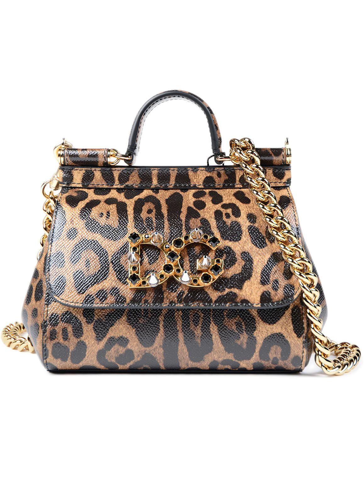 Dolce & Gabbana Dolce & Gabbana Mini Sicily Shoulder Bag