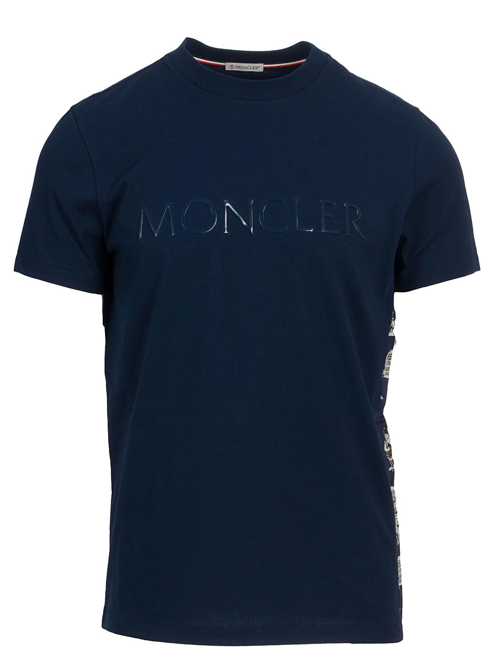 Moncler 8390t Cotton T-shirt