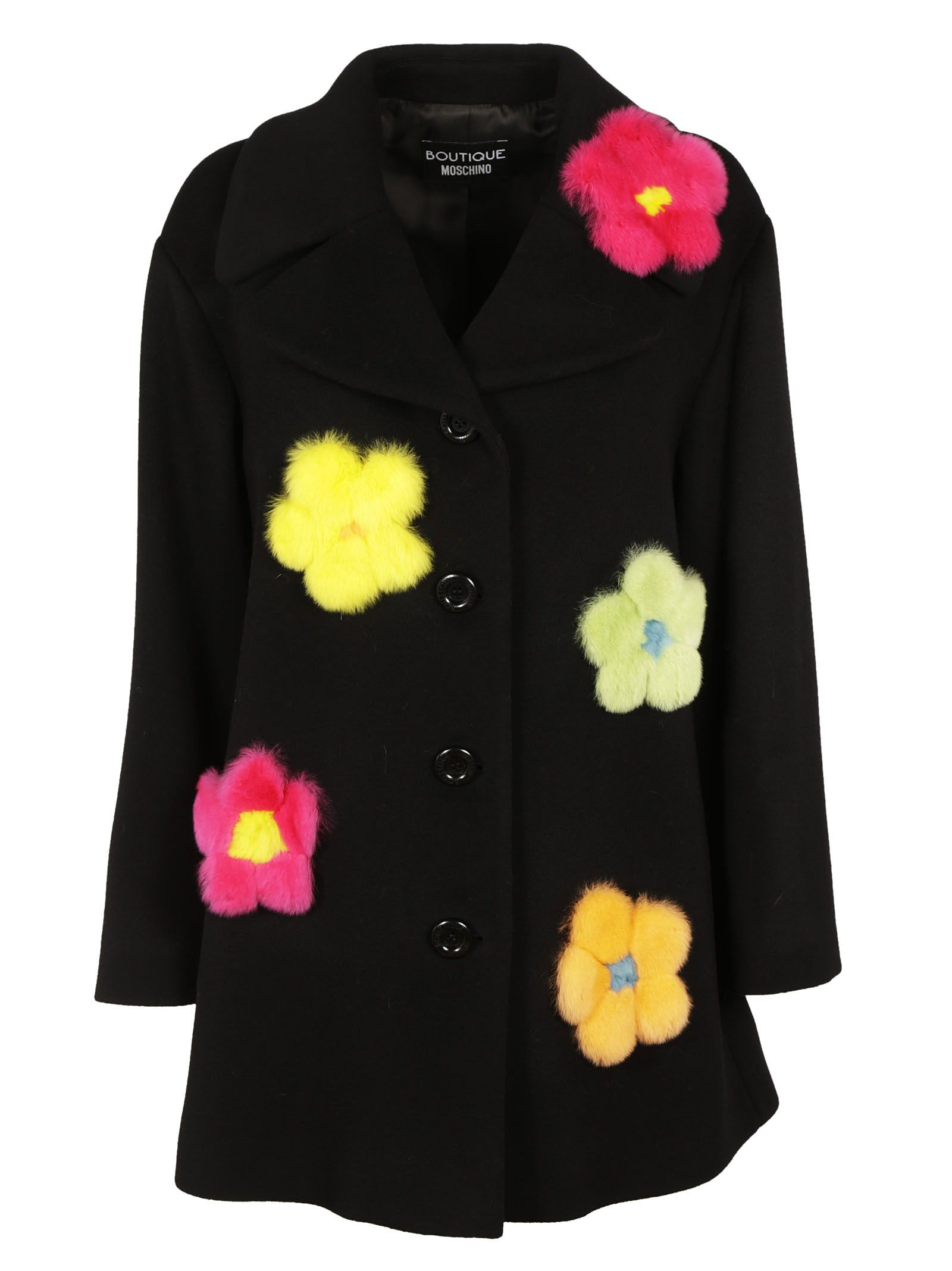 Boutique Moschino Flower Over Coat