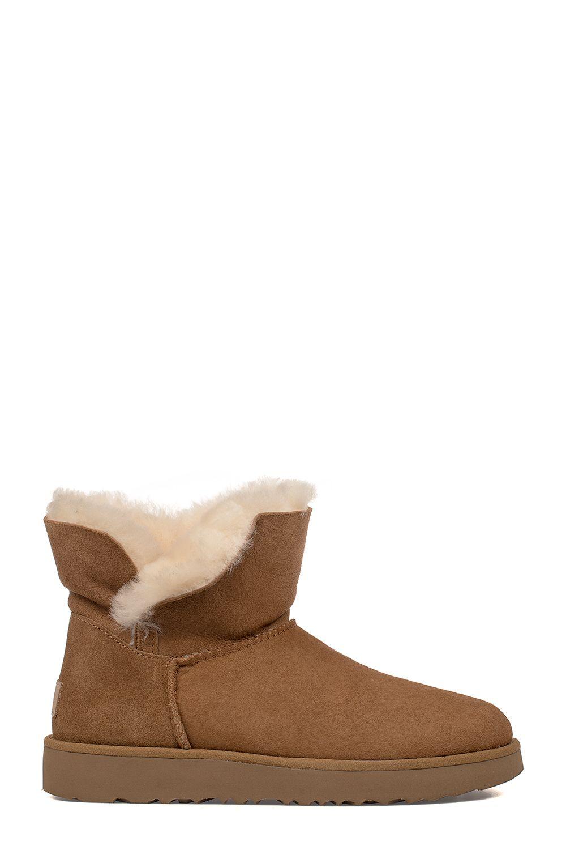 Chestnut Mini Classic Cuff Low Boot