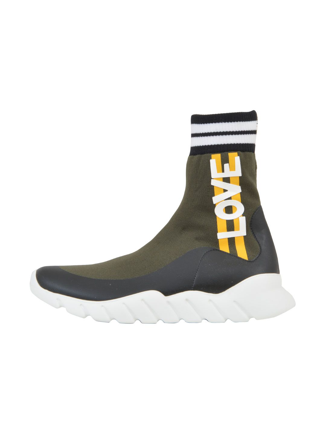 Fendi Knit High-top