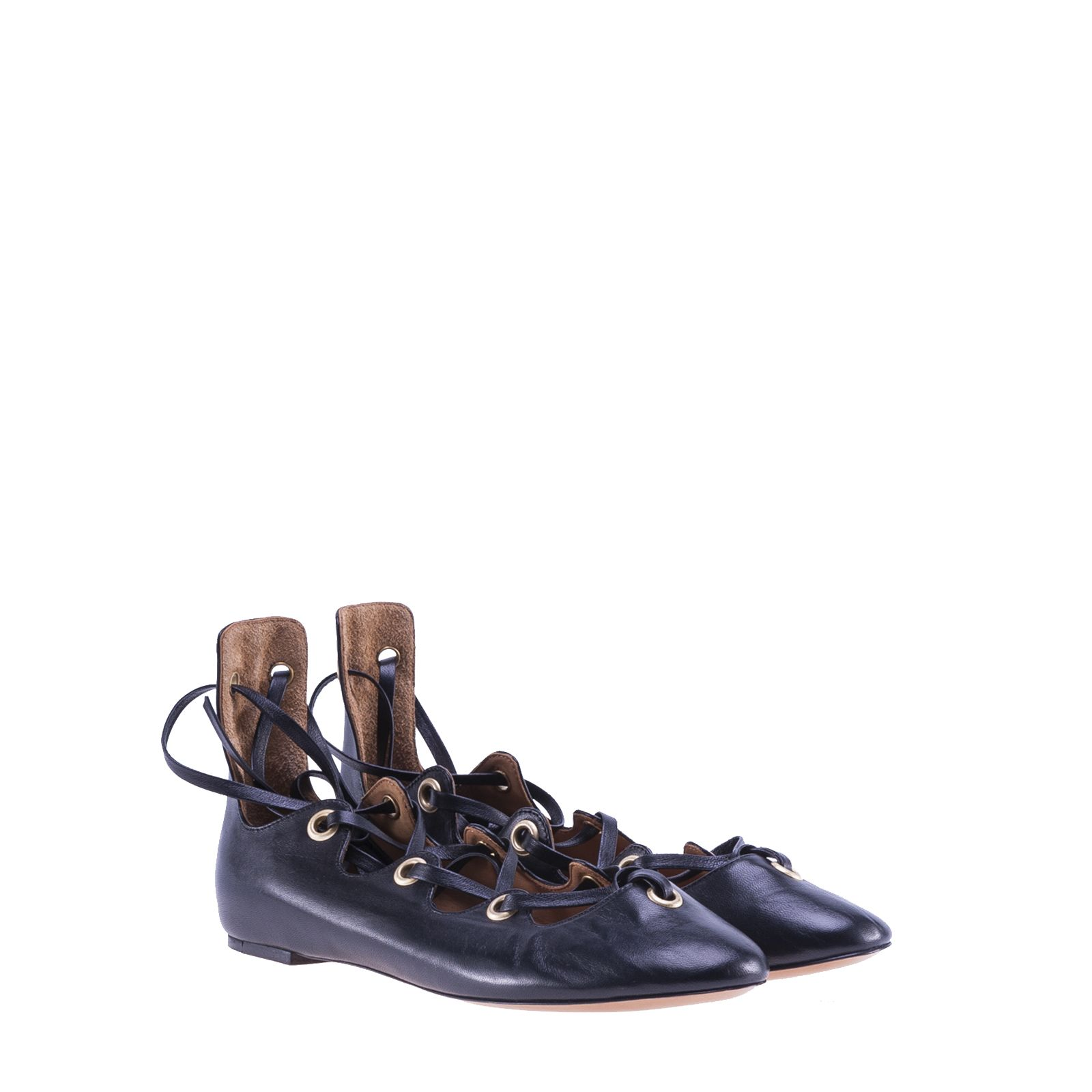 Isabel Marant Lace-up Ballerina Shoes