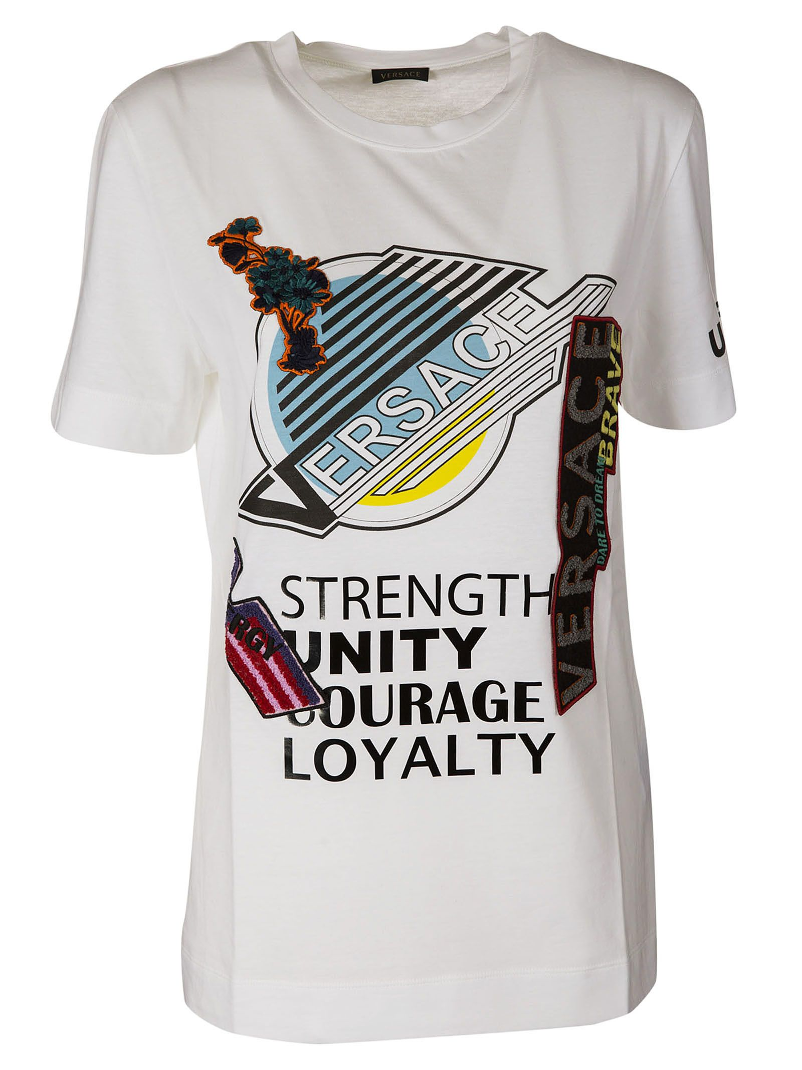 Versace Long Brave T-shirt