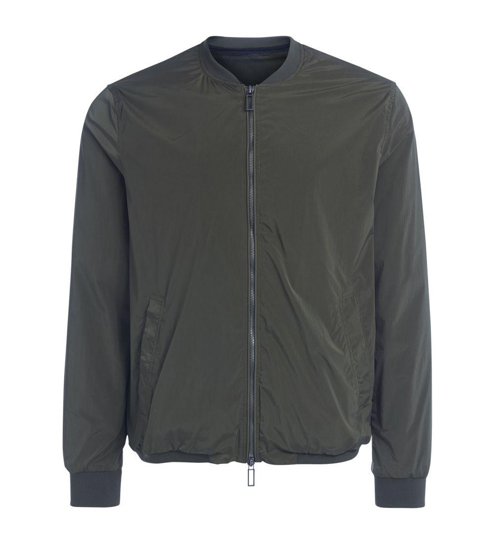 Paolo Pecora Green Bomber Coat