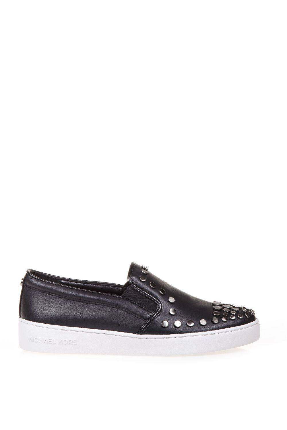 MICHAEL Michael Kors Studded Leather Slip-on Sneakers