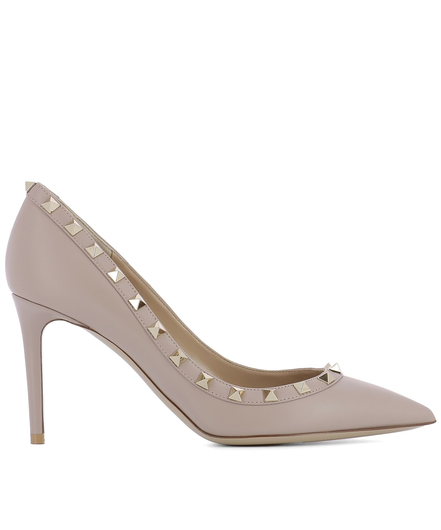 Pink Leather Pump