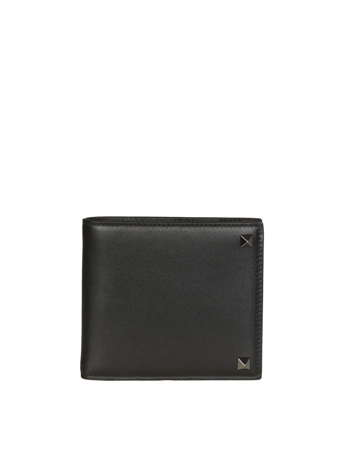 Valentino Valentino Rockstud Camouflage Wallet
