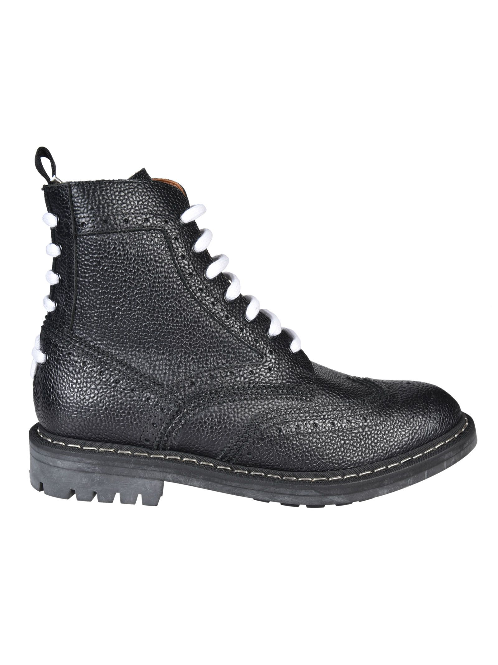 Givenchy Runway Commando Lace-up Boots