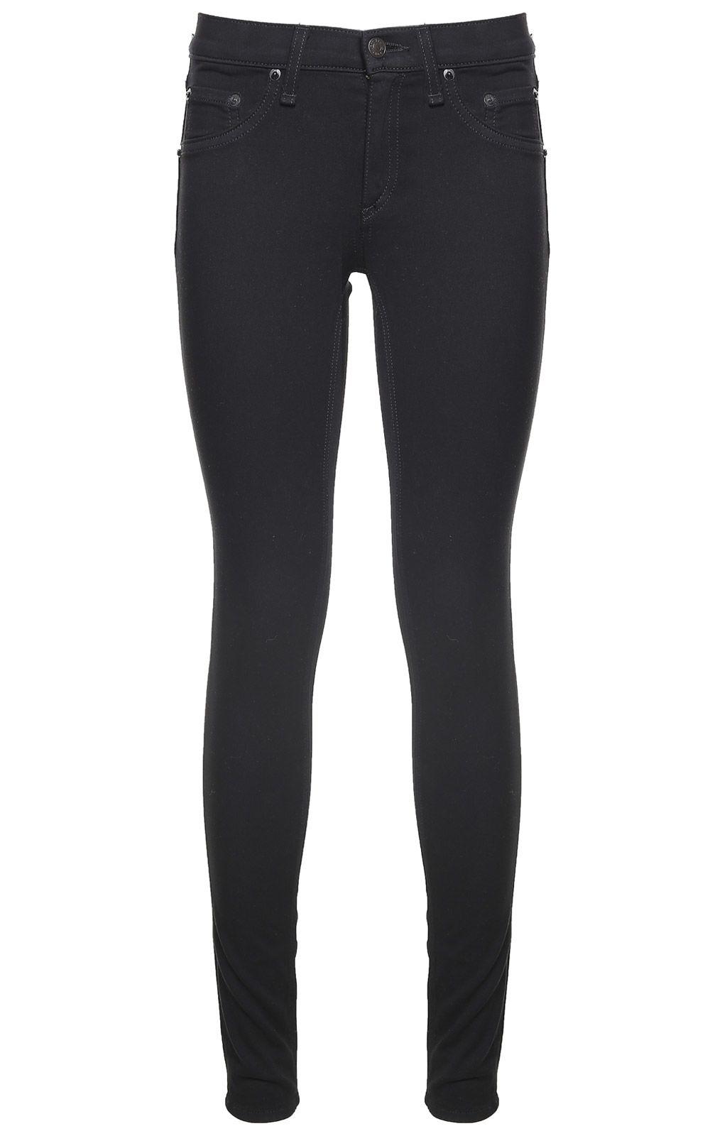 Rag & Bone Cotton-blend Legging Jeans