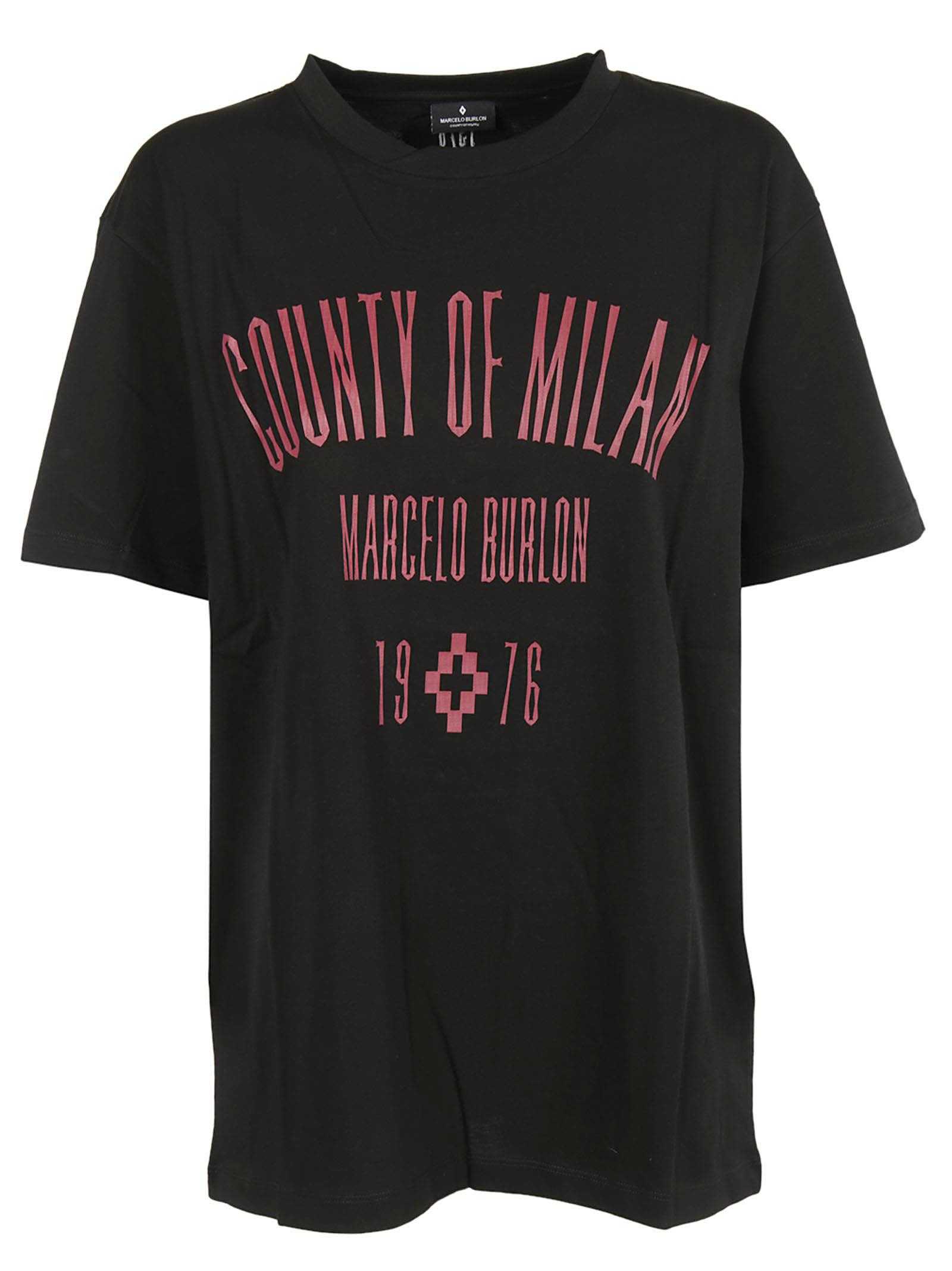 Marcelo Burlon Logo Print T-shirt