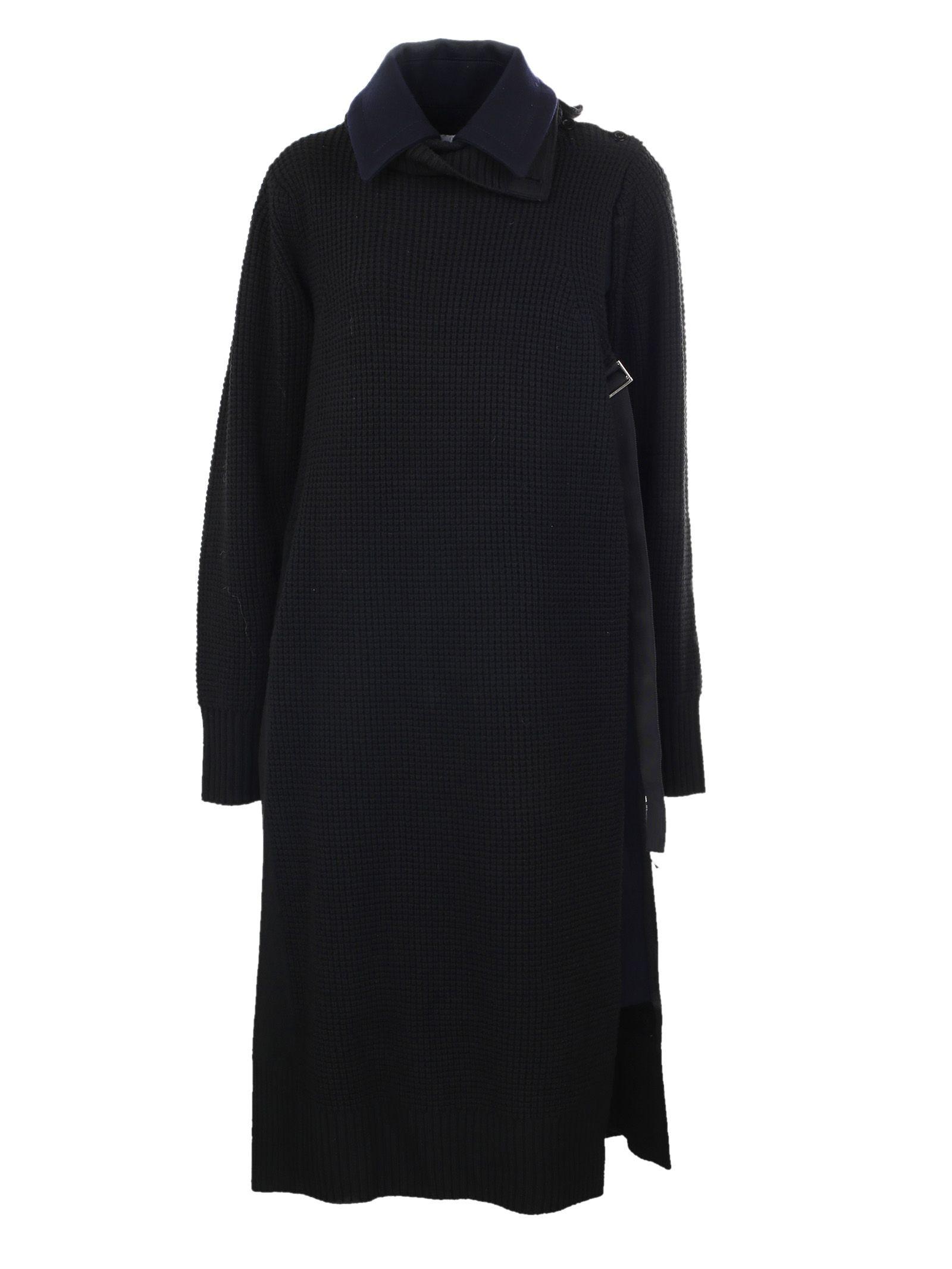 Sacai Cardigan Overlay Coat