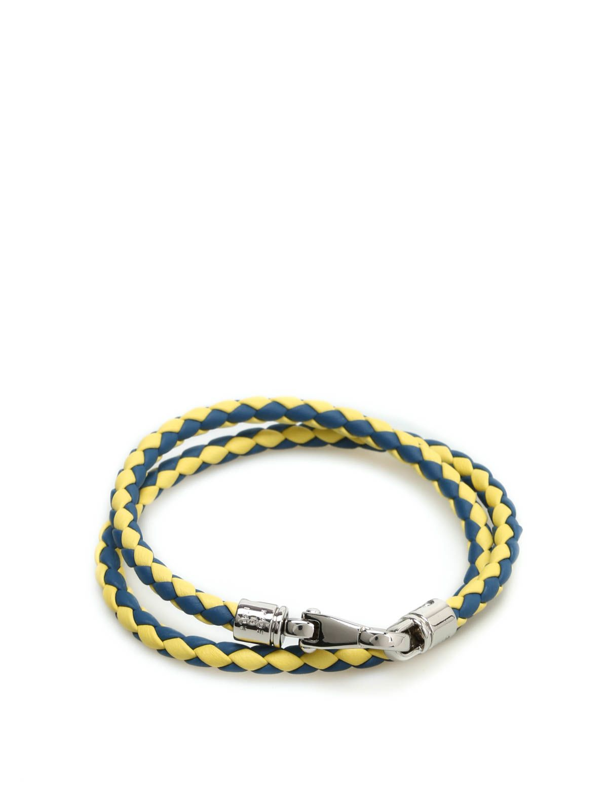Tods Mycolors Leather Bracelet