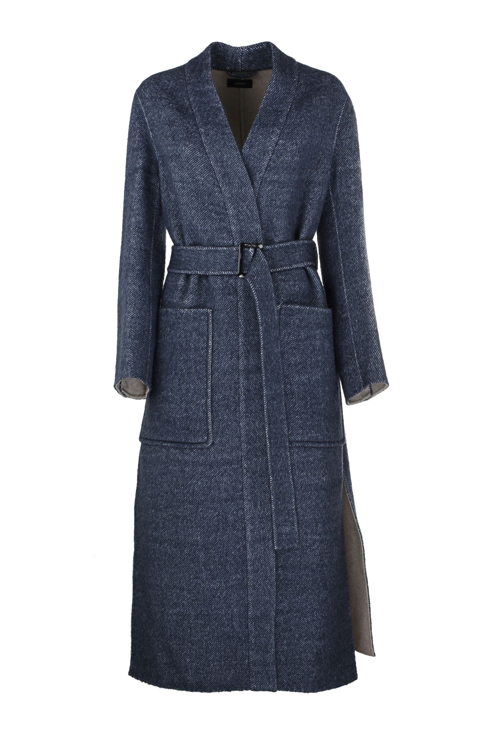 Joseph - Joseph Tailored Fitted Coat - Blue, Women's Coats ...