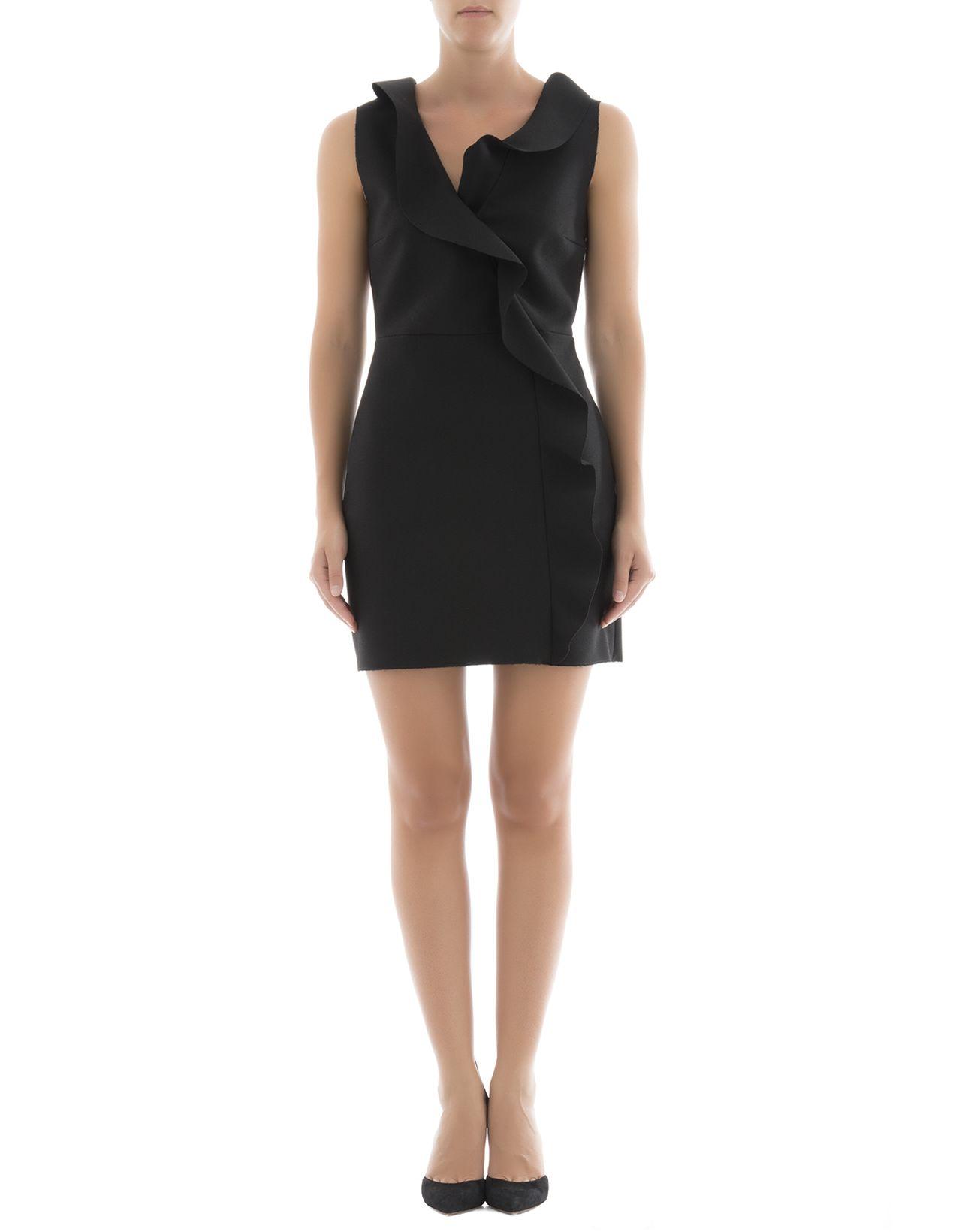 Black Polyester Dress