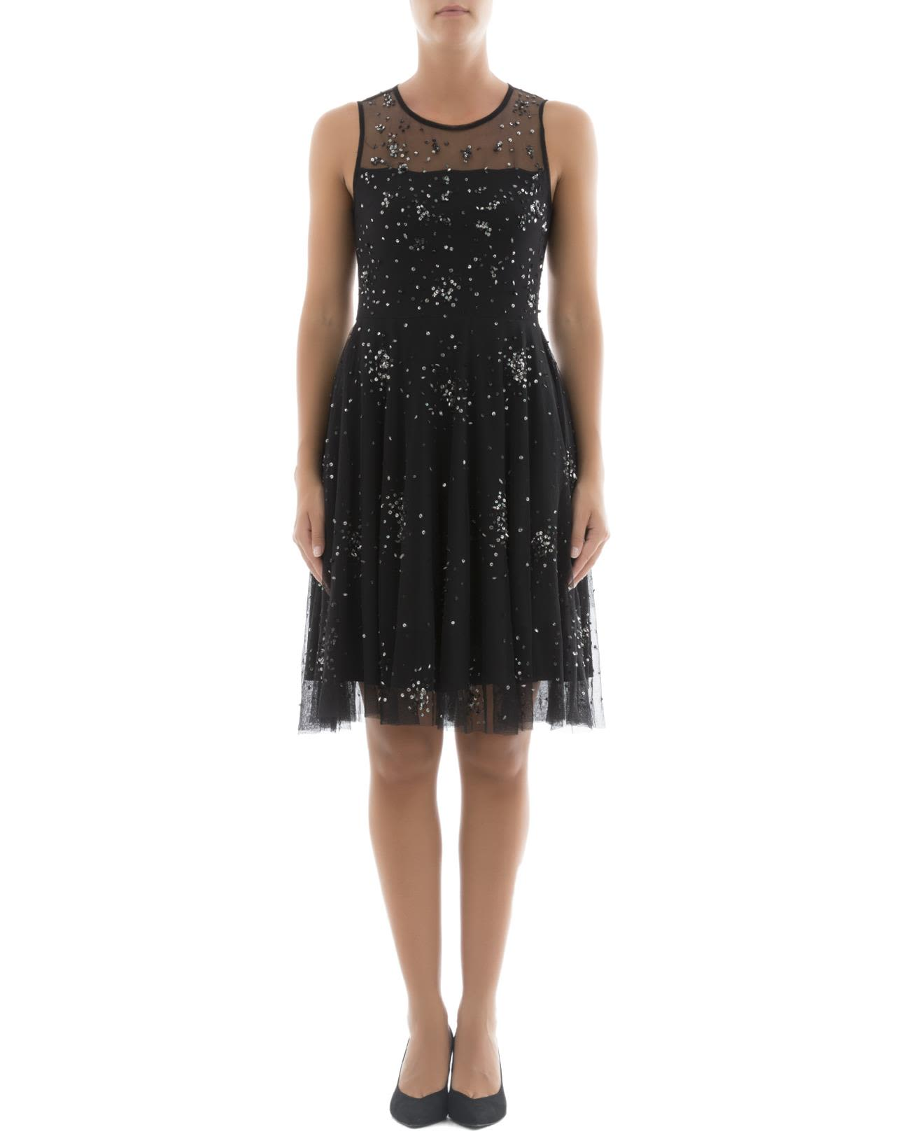 Black Polyamide Dress