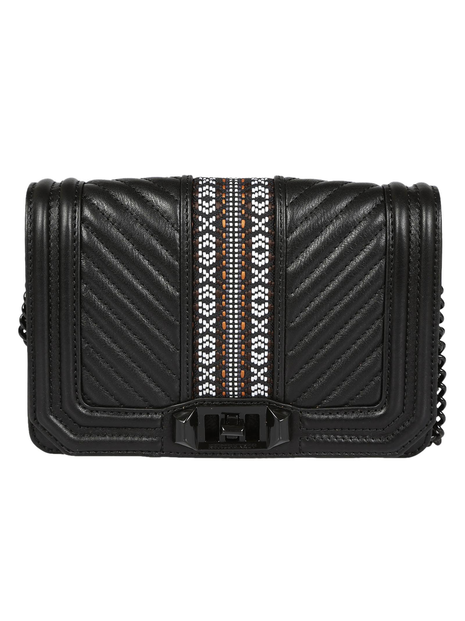 Rebecca Minkoff Jacquard Small Love Crossbody Bag