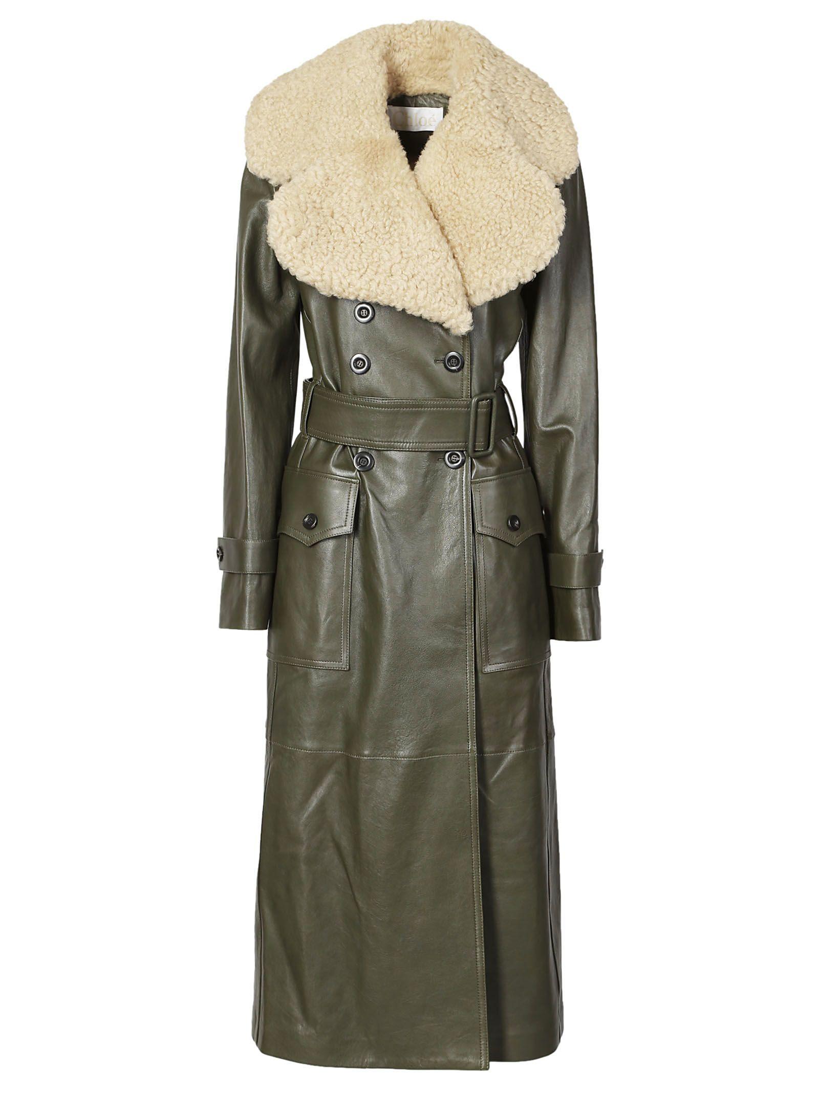Chloè Leather Coat