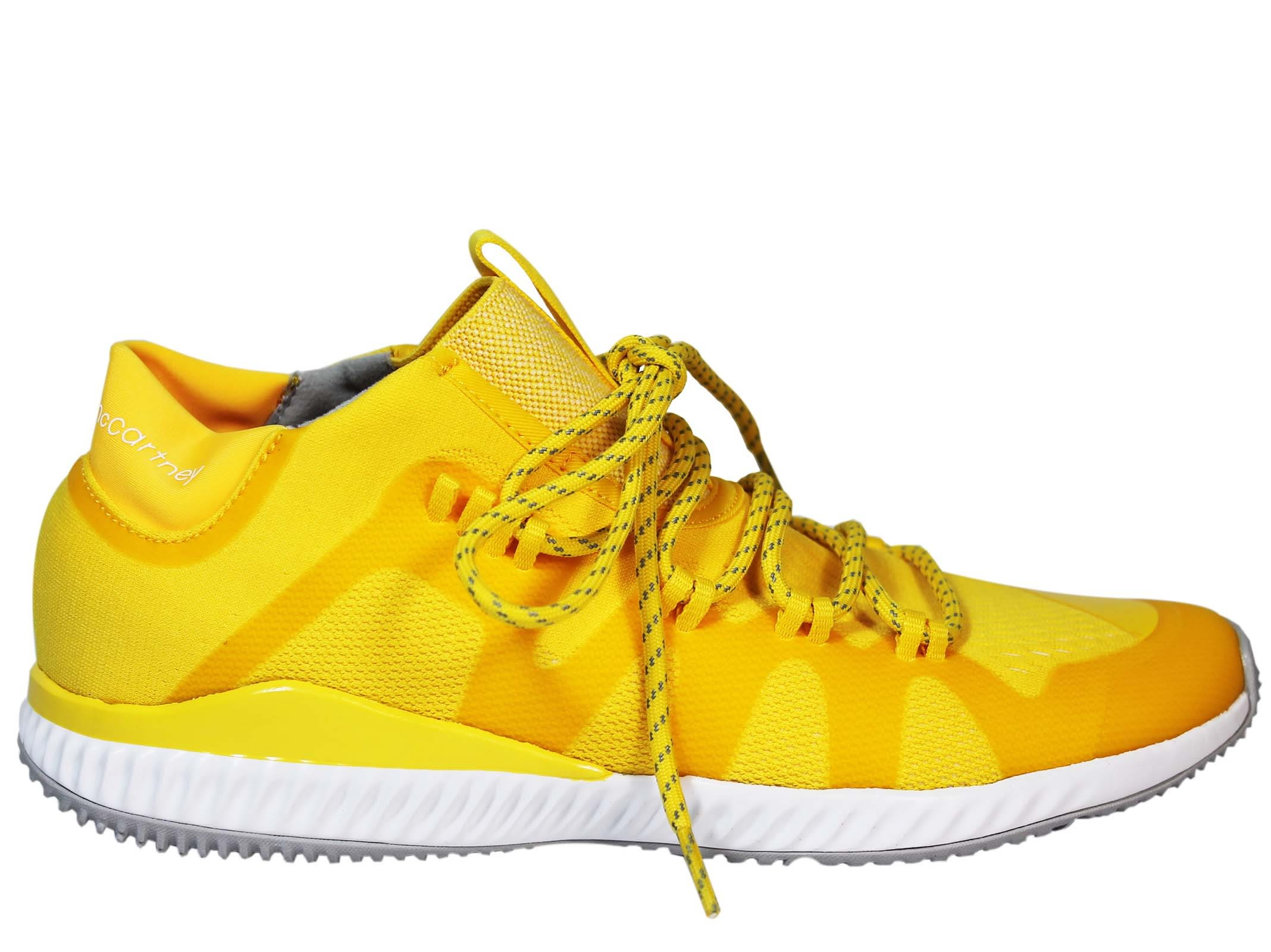 Adidas by Stella McCartney Yellow Crazytrain Low Sneakers
