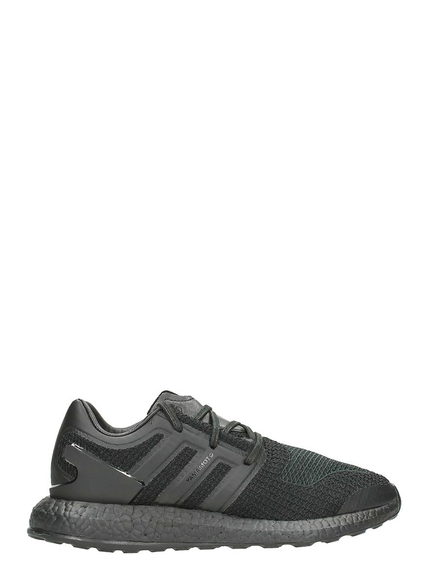 Y-3 Pure Boost Cotton Black Sneakers