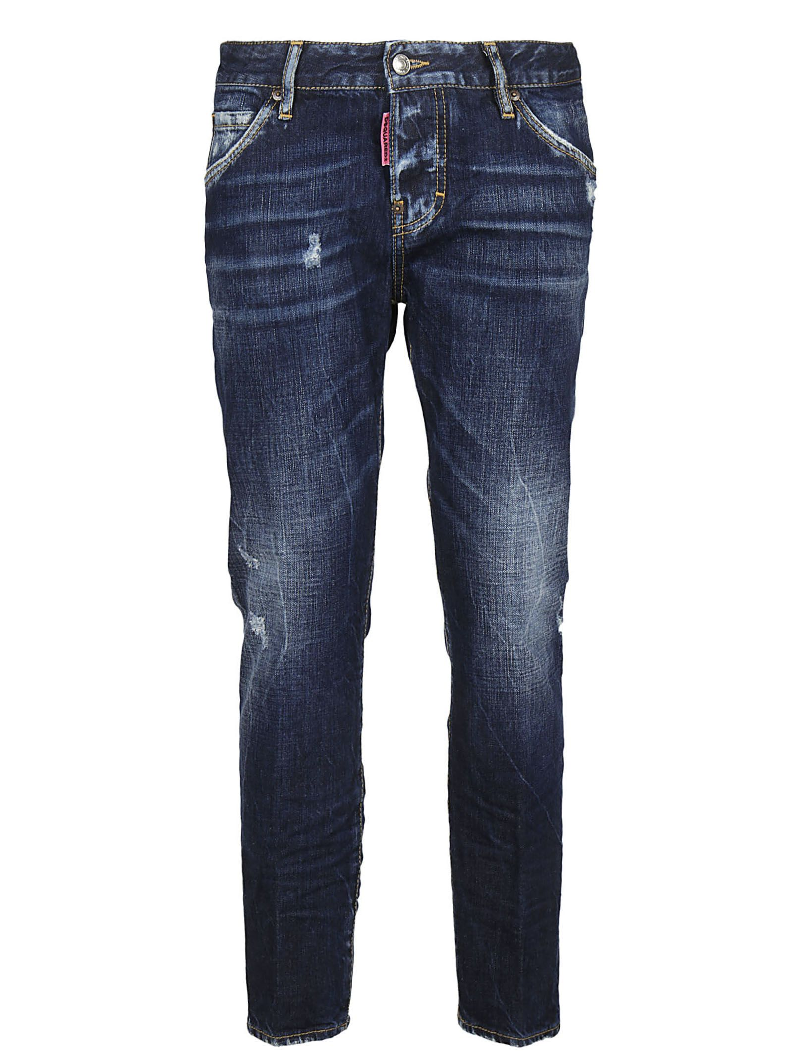 Dsquared2 Be Nice Straight-leg Jeans