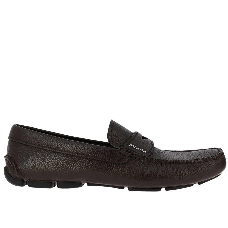 Loafers Shoes Men Prada