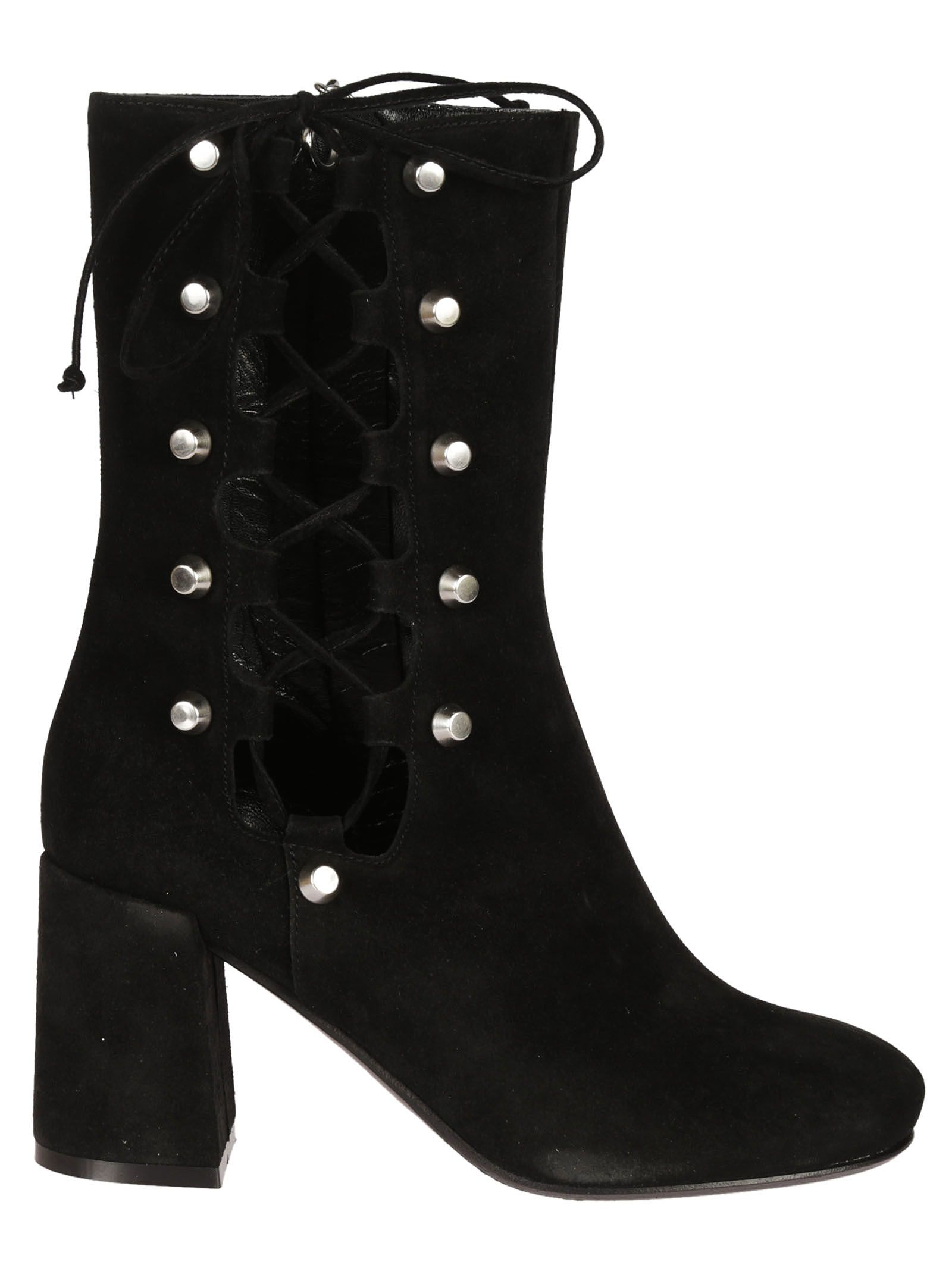 MCQ Alexander McQueen Lace-Up Ankle Boots