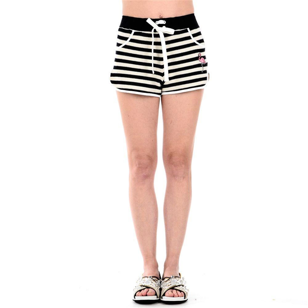 Red Valentino Striped Shorts