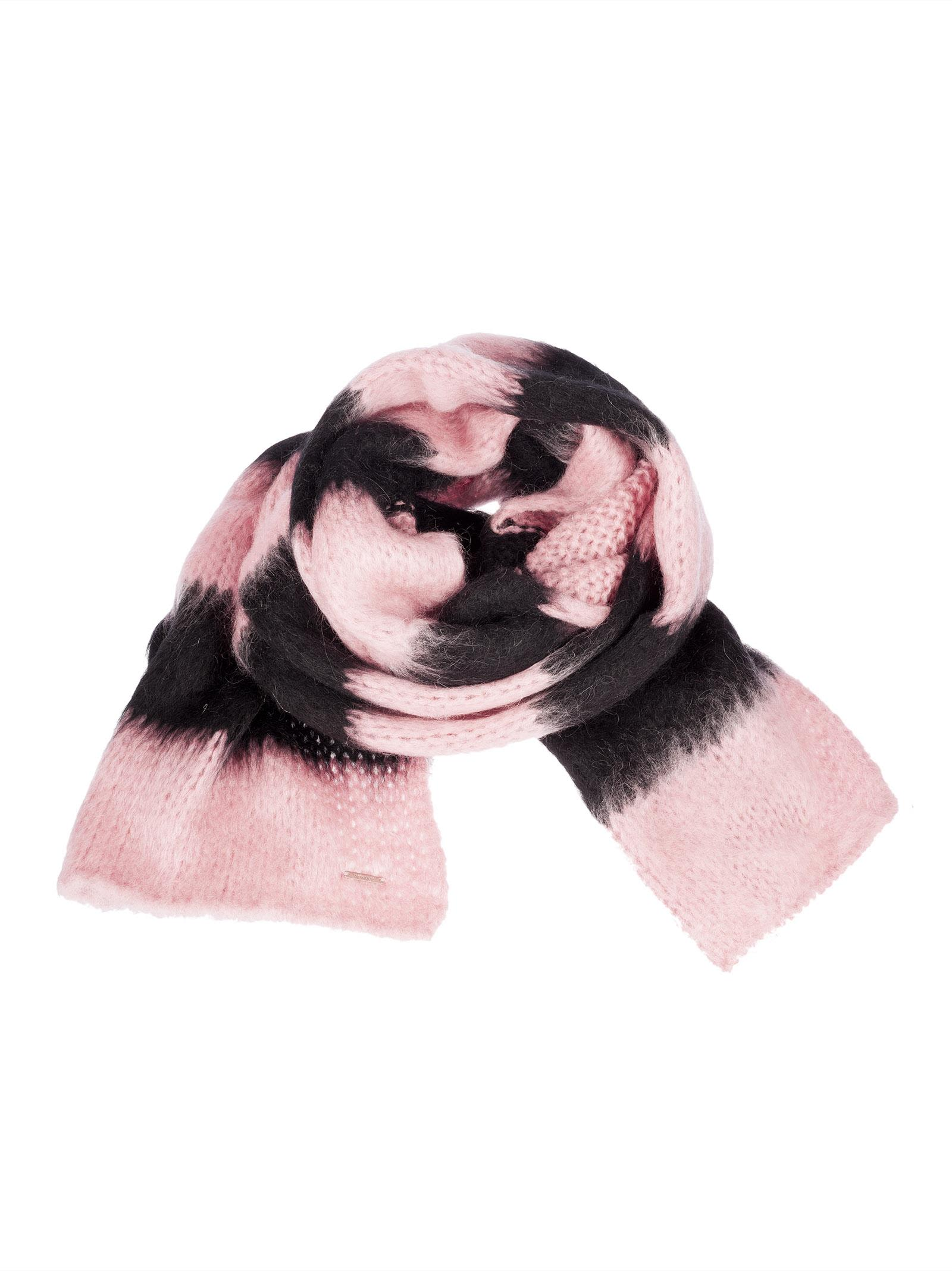 Dondup Striped Knit Scarf