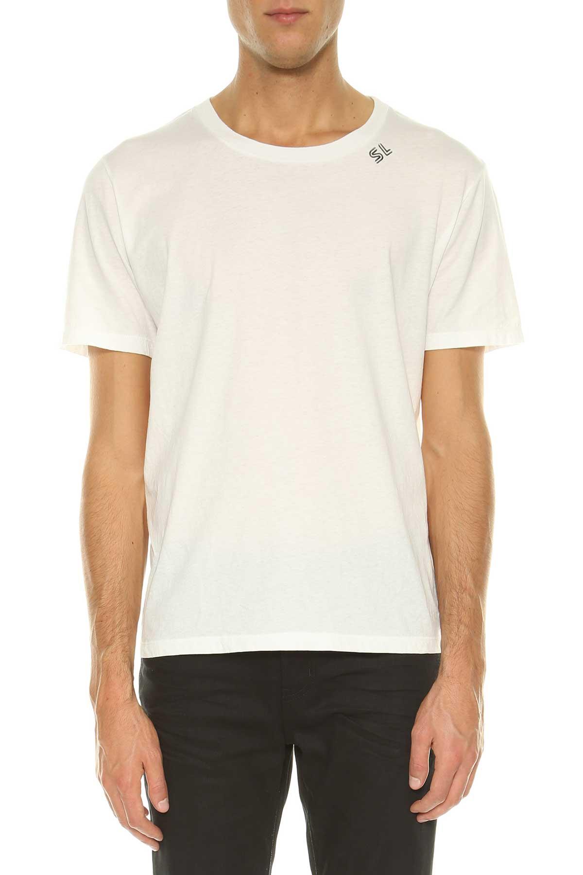 Saint Laurent Saint Laurent Sl Logo T-shirt