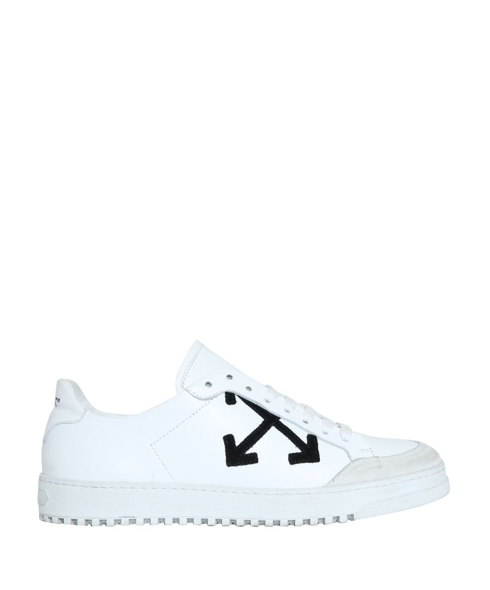 Off-White White Carryover Leather Sneakers
