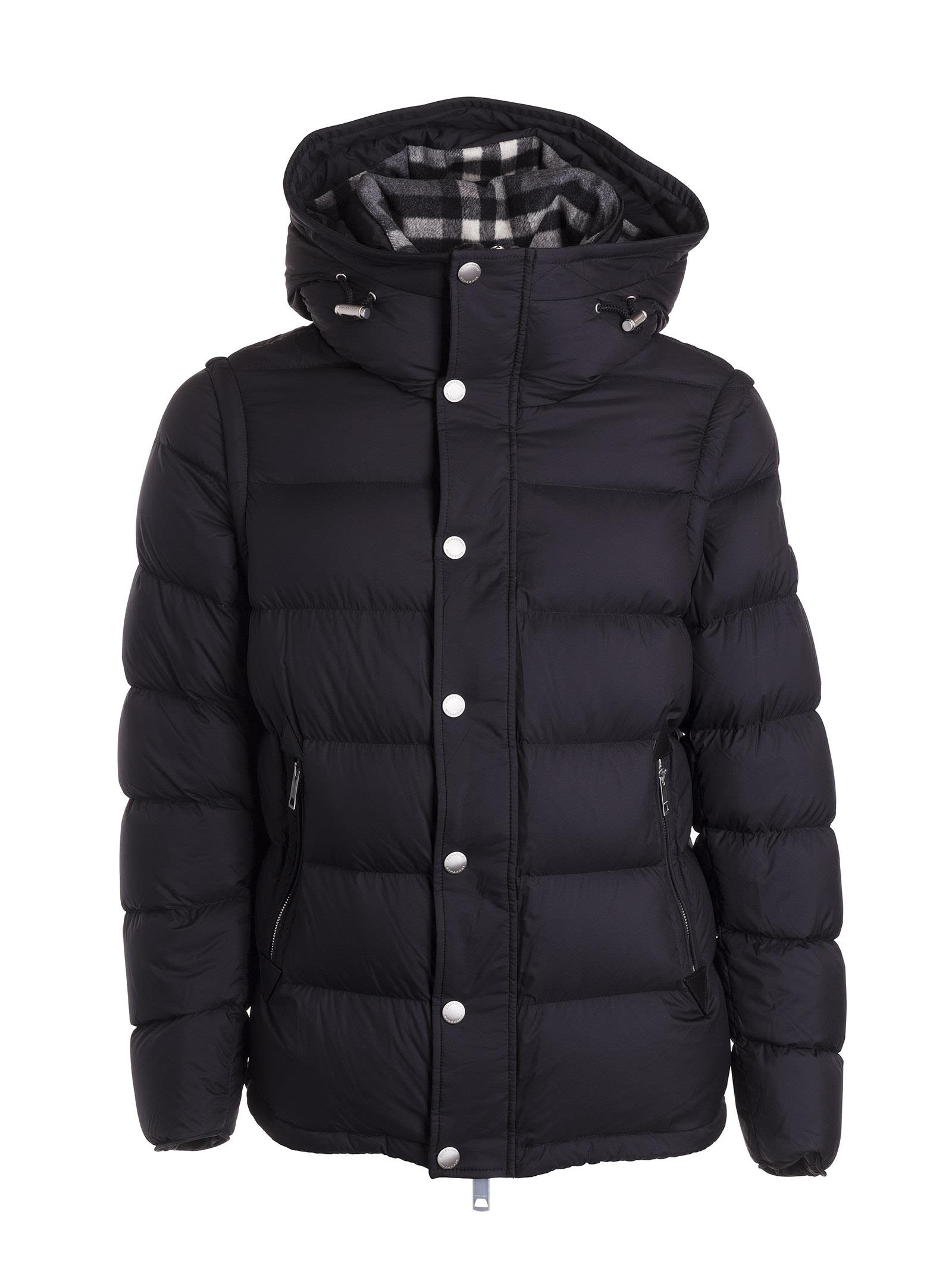 Burberry Hooded Puffer Padded Jacket