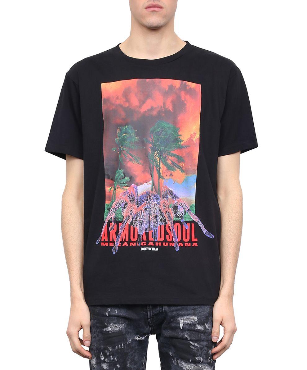 Marcelo Burlon Tecks Cotton T-shirt