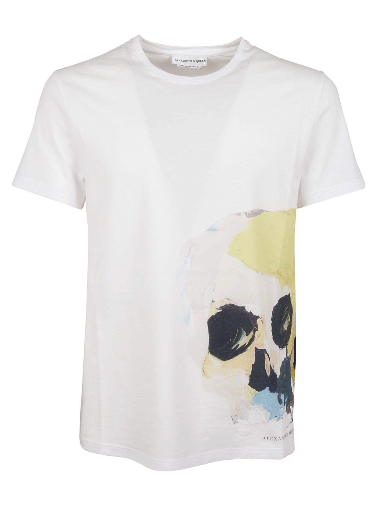 Alexander McQueen Engin Skull T-shirt