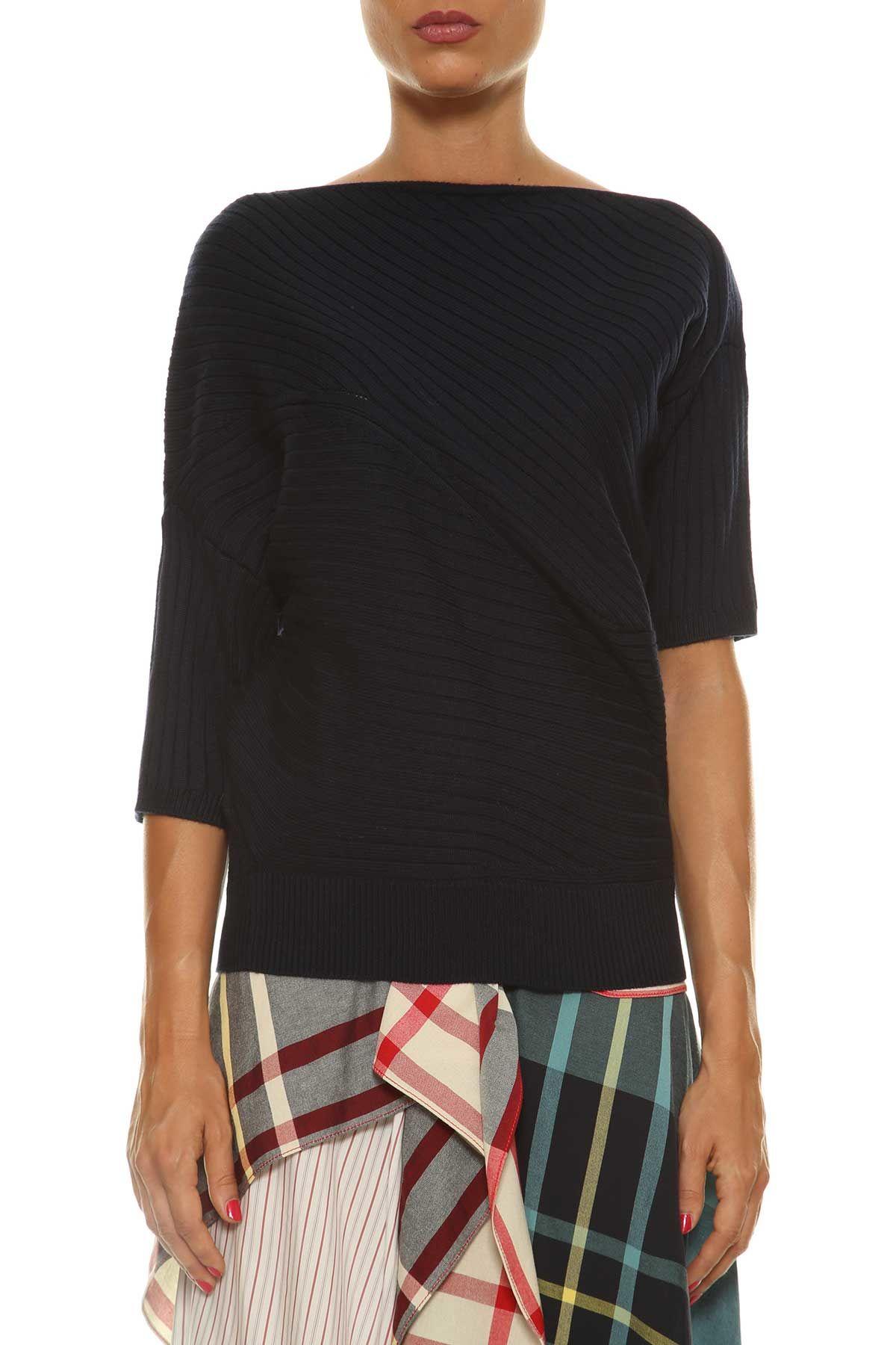 J.w. Anderson J.w. Anderson Asymmetric Sleeves Sweater