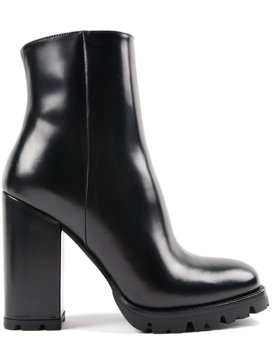 Prada Vitello Old Bootie 105mm