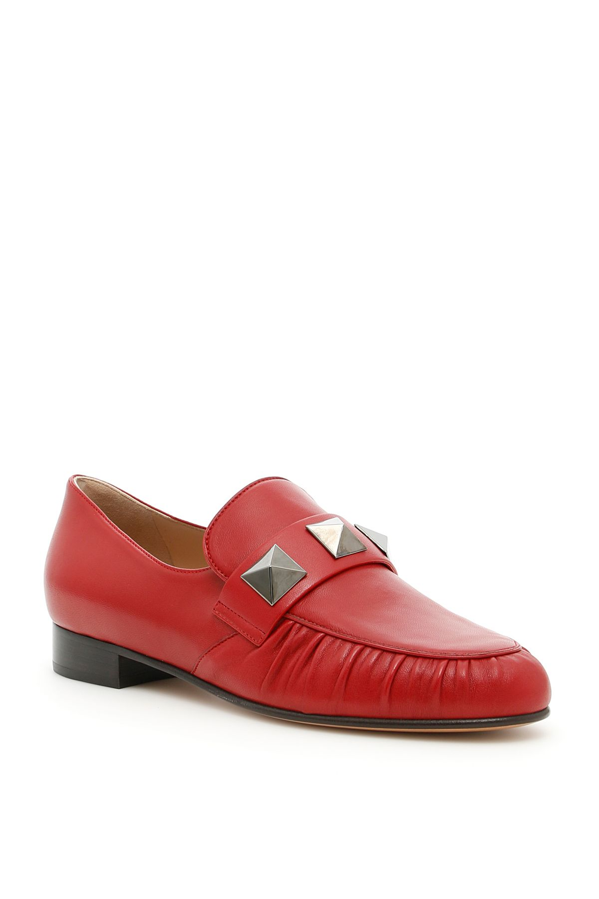 Loafers With Macro Studs
