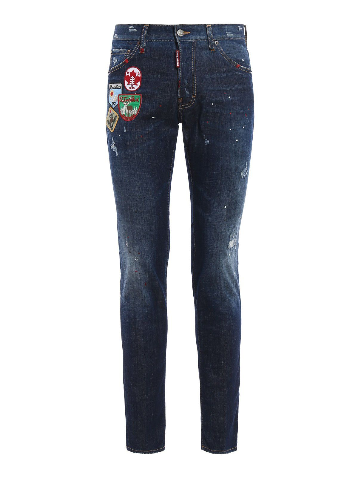 Dsquared2 Cool Guy Patch Jeans
