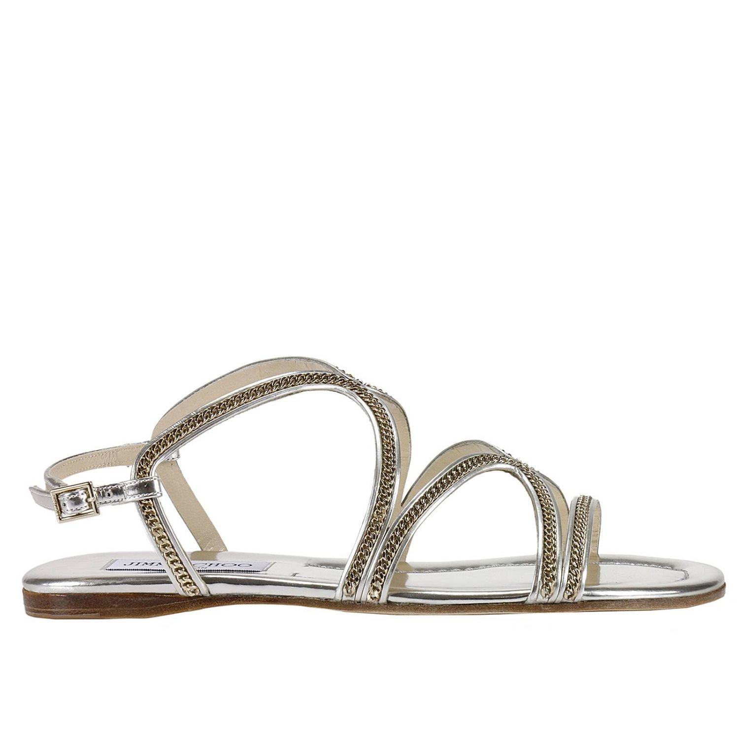 Flat Sandals Shoes Women Jimmy Choo