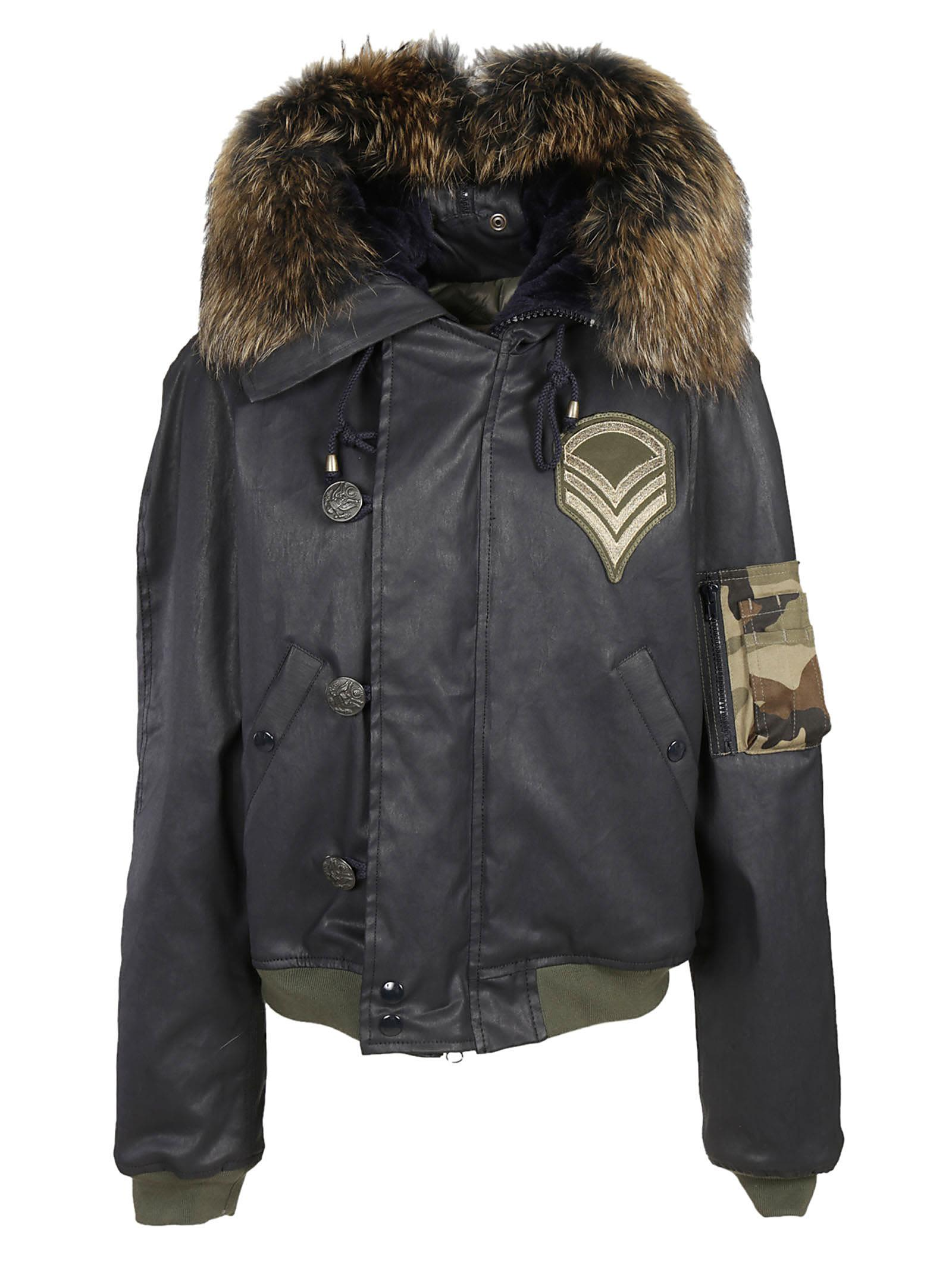 History Repeats Fur Trimmed Parka