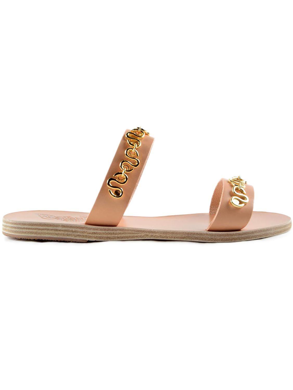 Ancient Greek Sandals Flat Sandal