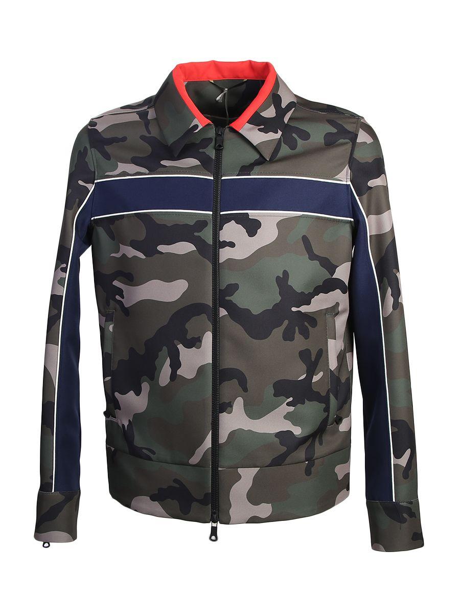 Camouflage Techno Jacket