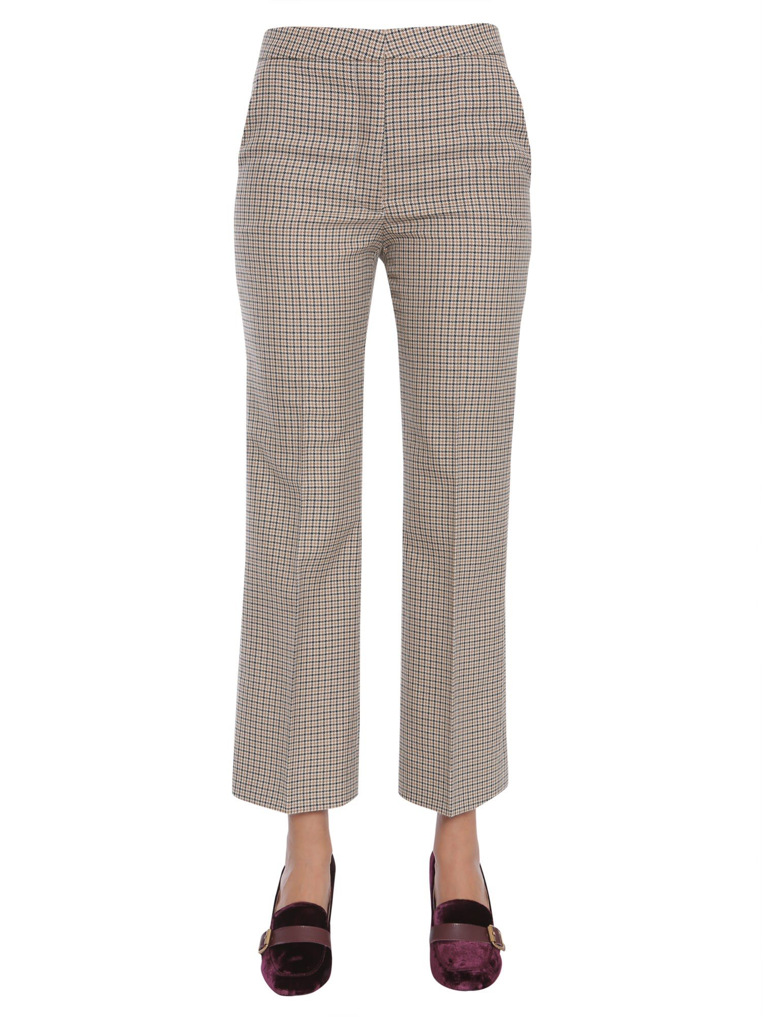 Short Tailored Trousers