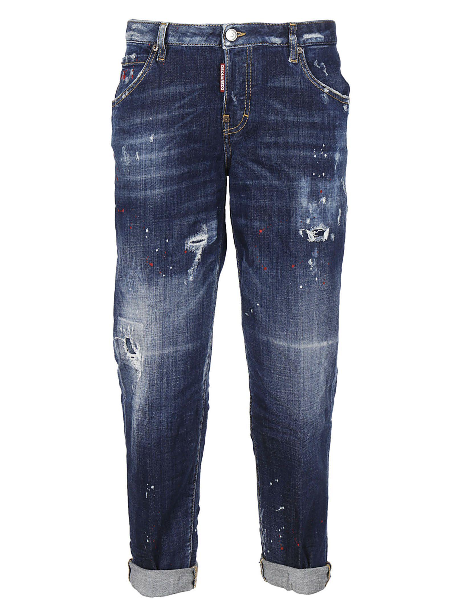 Dsquared2 Distressed Hockney Jeans