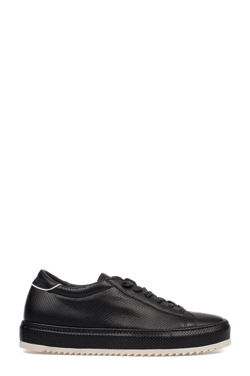Black Noah Perfore Leather Sneakers